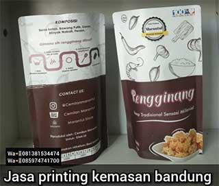 Jasa Printing Kemasan Bandung