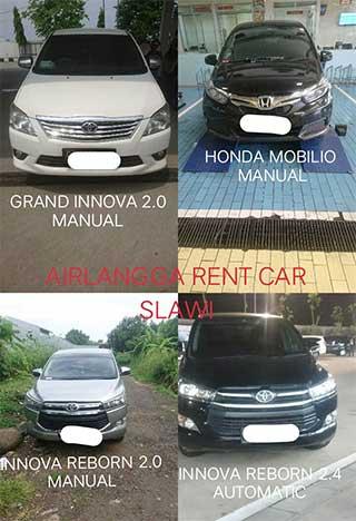 Rental Sewa Mobil Murah di Slawi Tegal Brebes