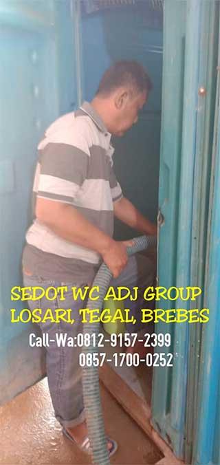Jasa Sedot Wc Losari Tegal Brebes