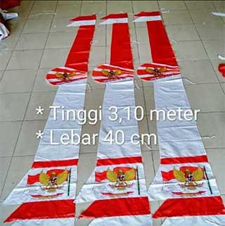 Jual Umbul Umbul Bendera Spanduk Garut