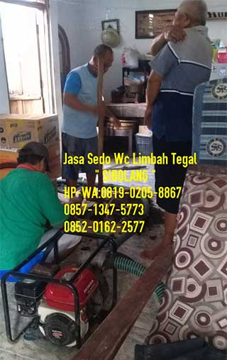Jasa Sedot Wc Murah Tegal