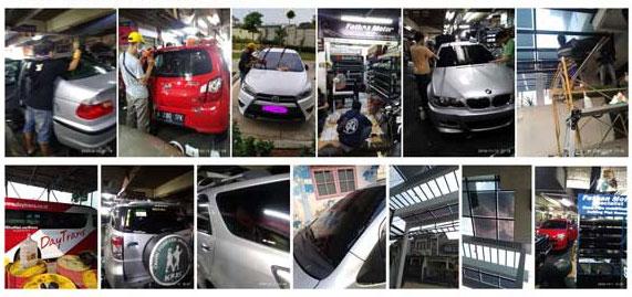 Kaca film mobil murah di Bintaro