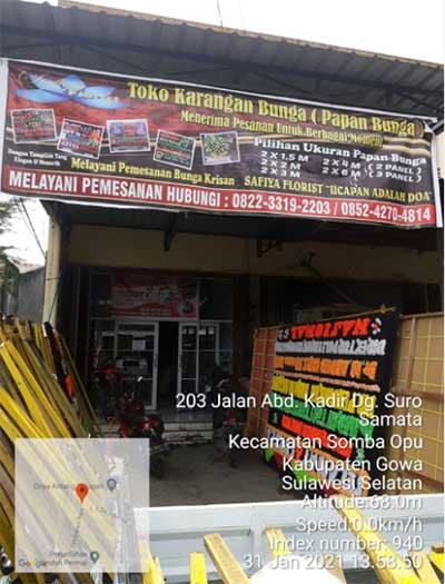 Toko Karangan Bunga Gowa Makassar